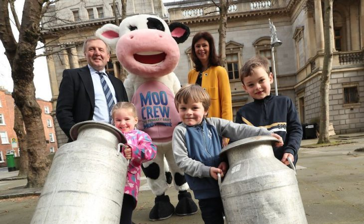 Importance of School Milk Scheme underlined by Creed