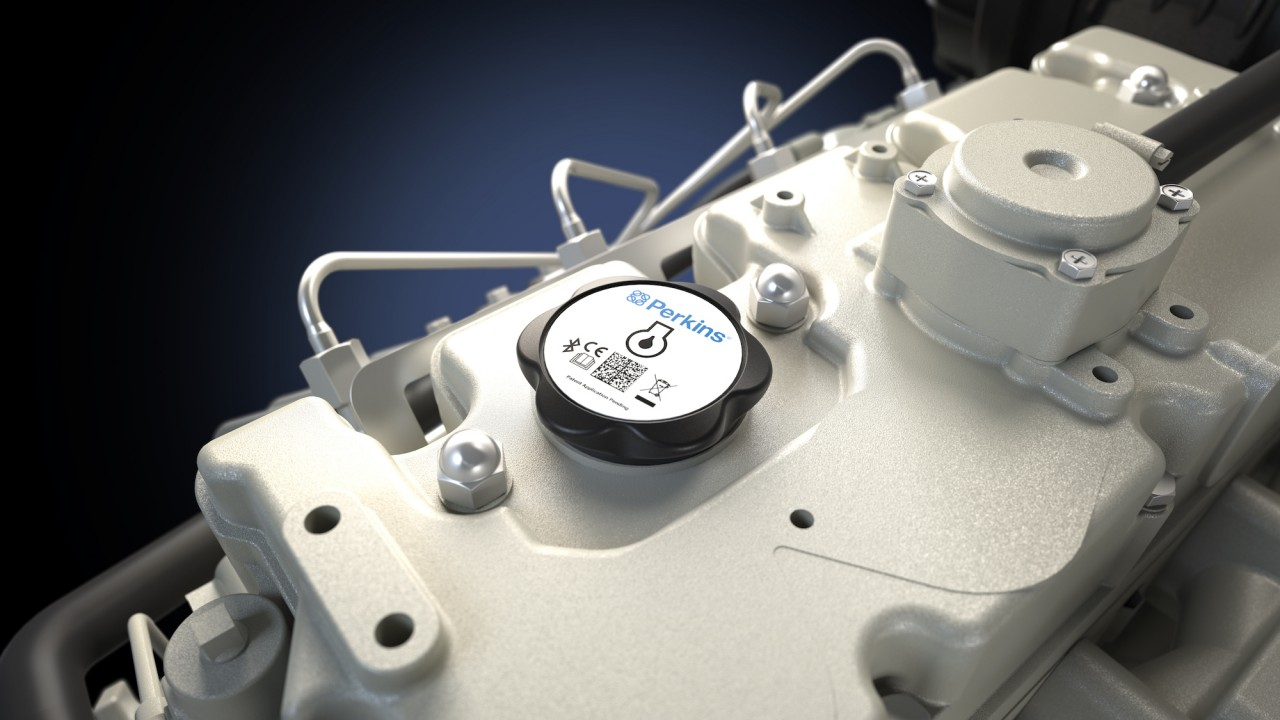 An oil filler cap that keeps an eye on your engine…but how?