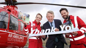 Centenary dinner and calendar raise £31,000 for air ambulance