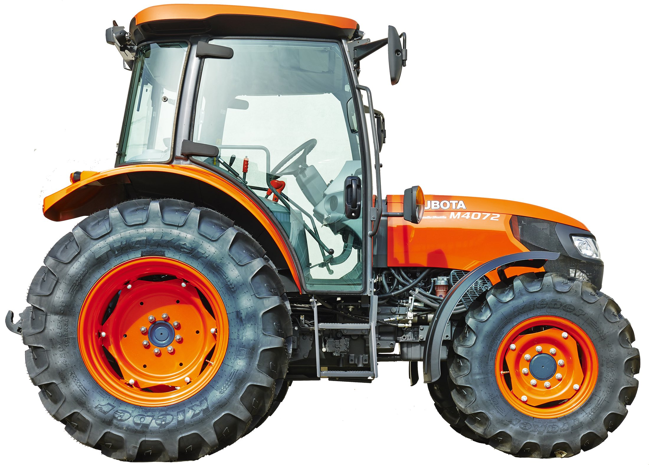 In For The Long Haul Kubota Wheels Out More New Metal