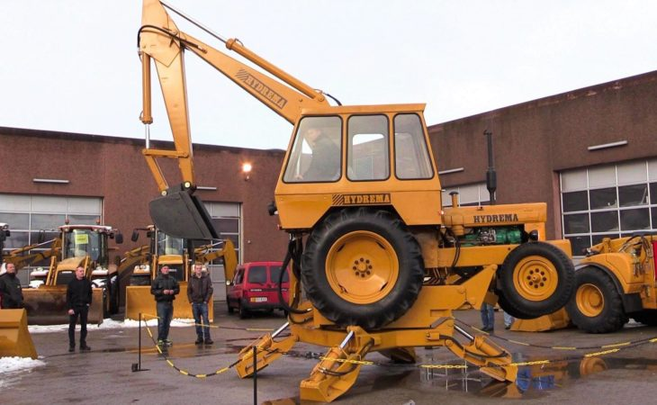 The age-old backhoe that can turn on a six-pence