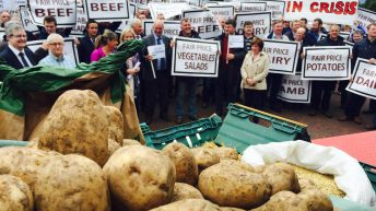 Farm lobby group to protest at Stormont