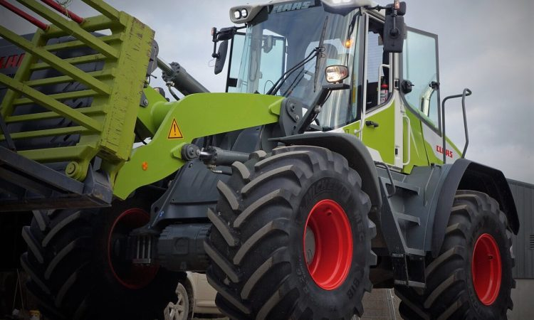 Eye-catching equipment arrives…for this week's Grass & Muck