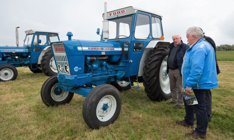 See what this Ford 5000 in 'as-new' condition fetched at auction