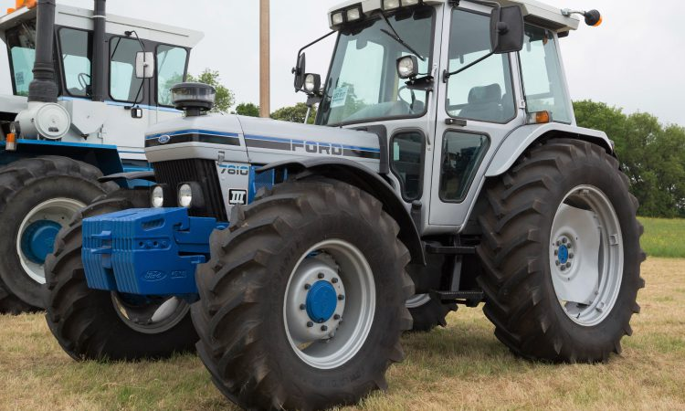 Over £35,000 for a Ford 7810, albeit a very 'special' one