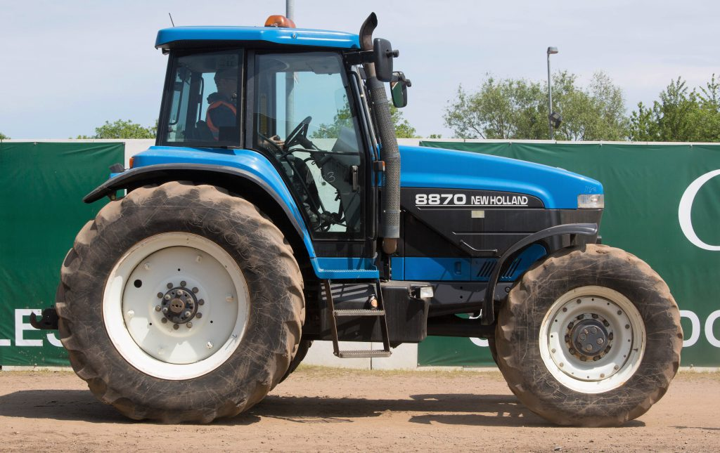 New Holland Ford >> Auction Report Eyeing Up A Ford New Holland At This