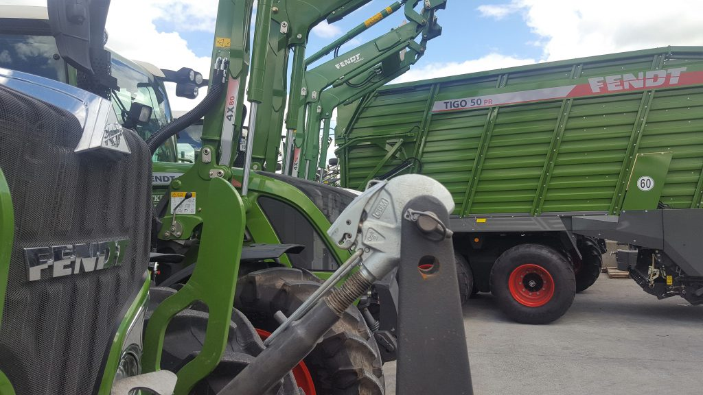 Fendt wagon machine