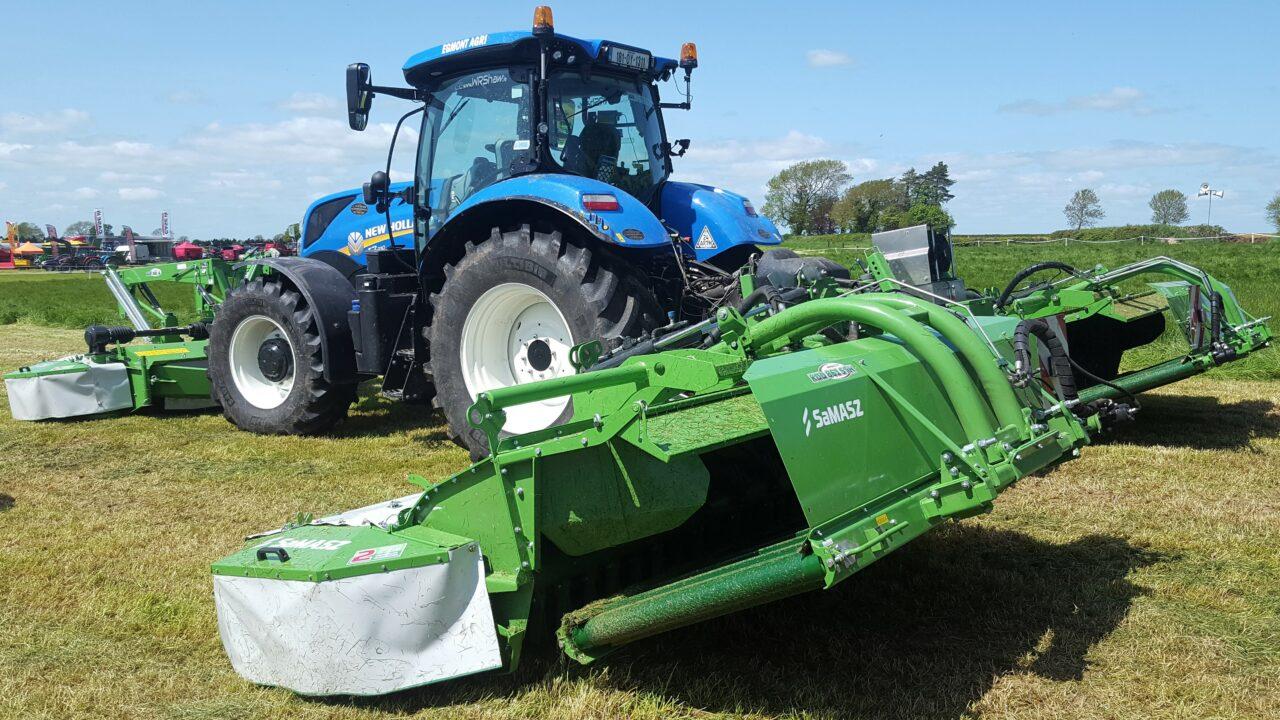 Polish-built 'combi' mower catches the eye at Grass & Muck