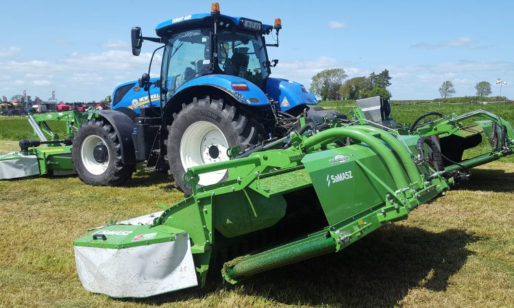 Polish-built 'combi' mower catches the eye at Grass & Muck