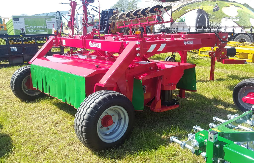 Mystery mower at Grass & Muck: Can the Italians do it better