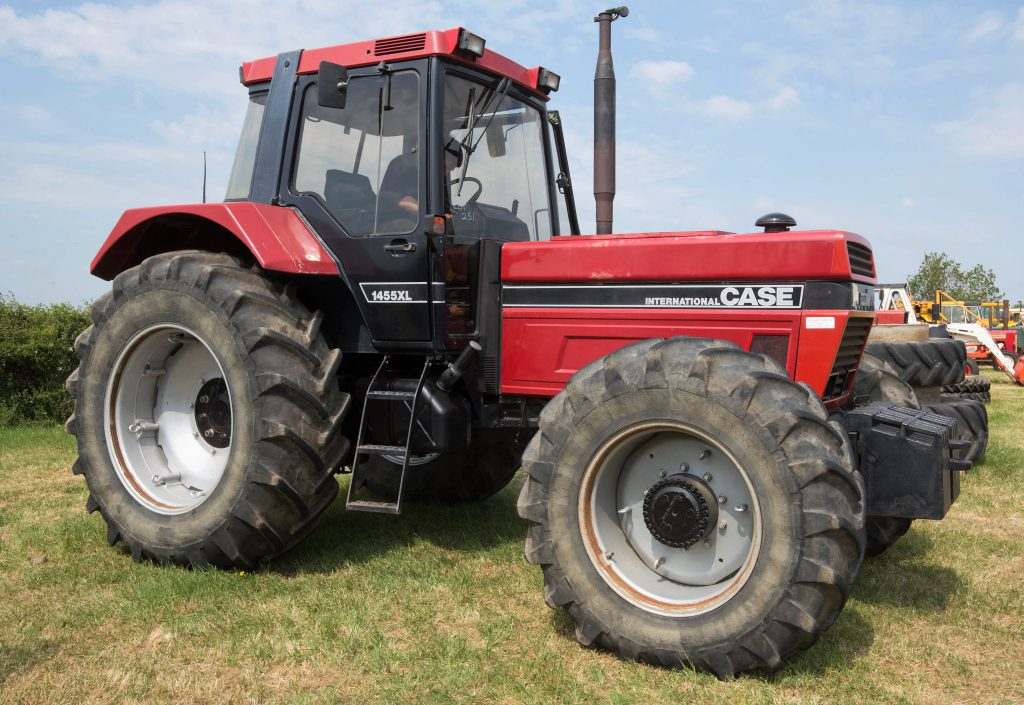 1987 Case IH 1455XL goes to auction   and makes £27,000