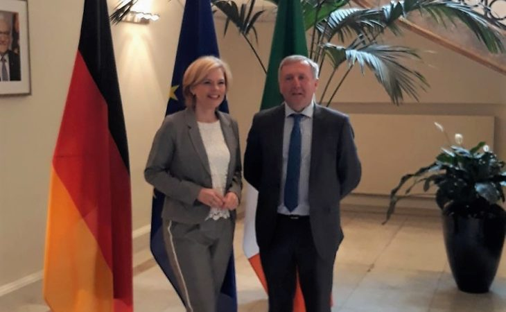 'CAP must be protected': Creed meets German Minister for Agriculture