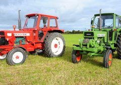 Classic corner: Two ex-army sibling tractors spotted in Co. Offaly