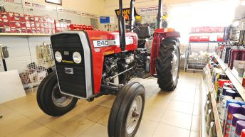 Trade focus: The tractor 'trapped' in Kerry that trades parts to the world