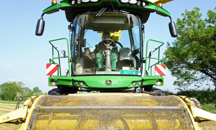 Limerick contractor puts latest silage harvester to the test