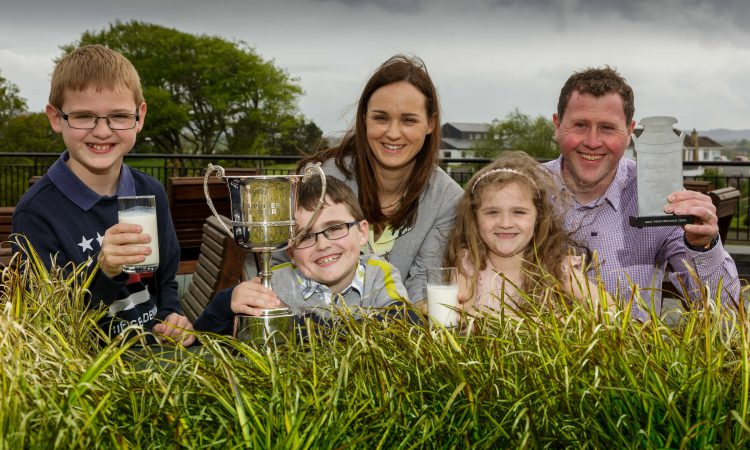 Donegal dairy farmer unveiled as Aurivo Milk Supplier of the Year