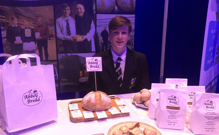 Tipperary student 'rises' to the top with monks' yeast bread mix