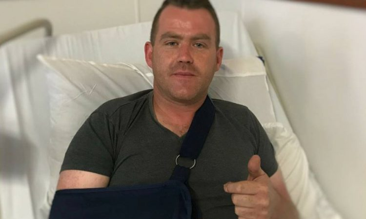 'Hit the Diff' star hits hospital bed after quad accident