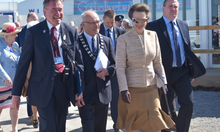 Royal visitor attends opening day of 150th Balmoral Show