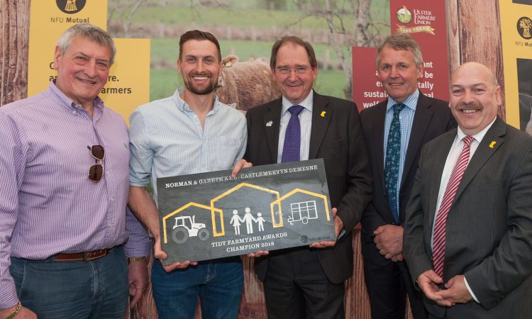 Tyrone man sweeps up in tidy farm competition