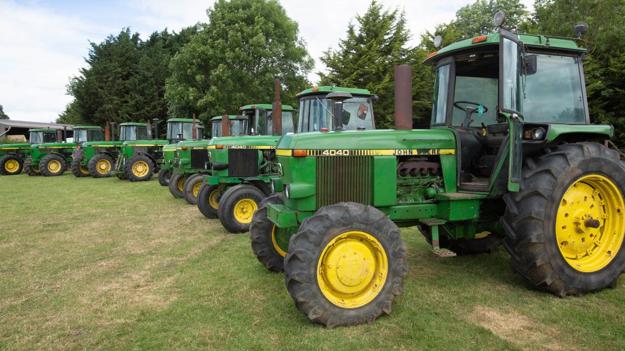 Auction report: A bargain…or was this line-up simply too 'Deere'?