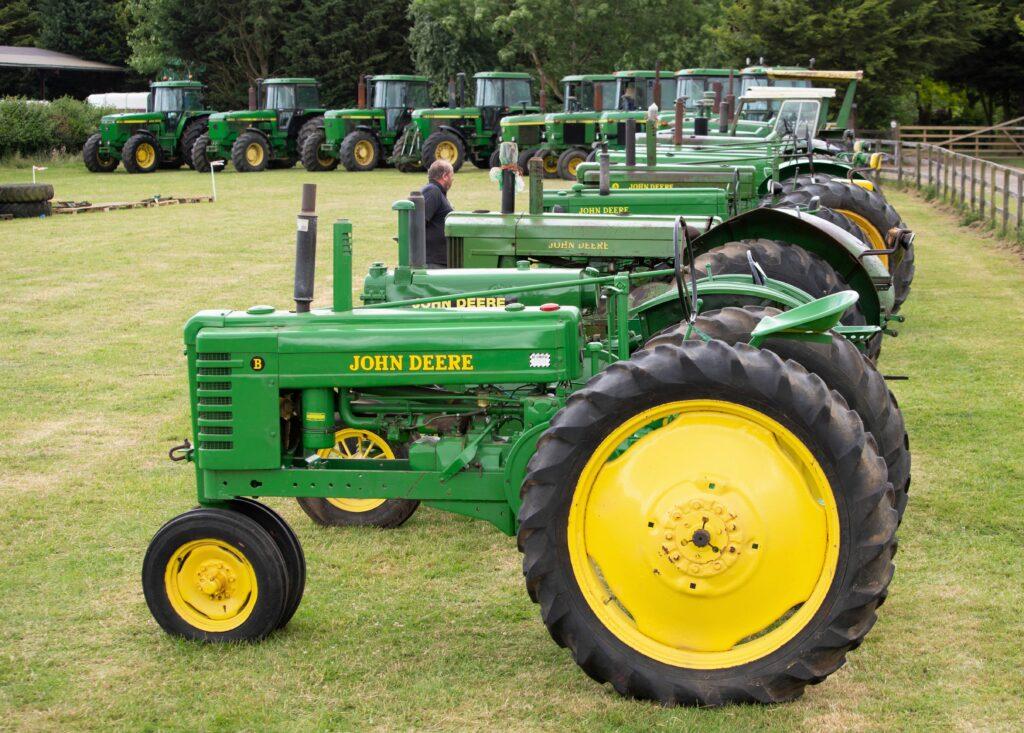 Auction report  Bids aplenty for massive John Deere collection ... 6663a283e