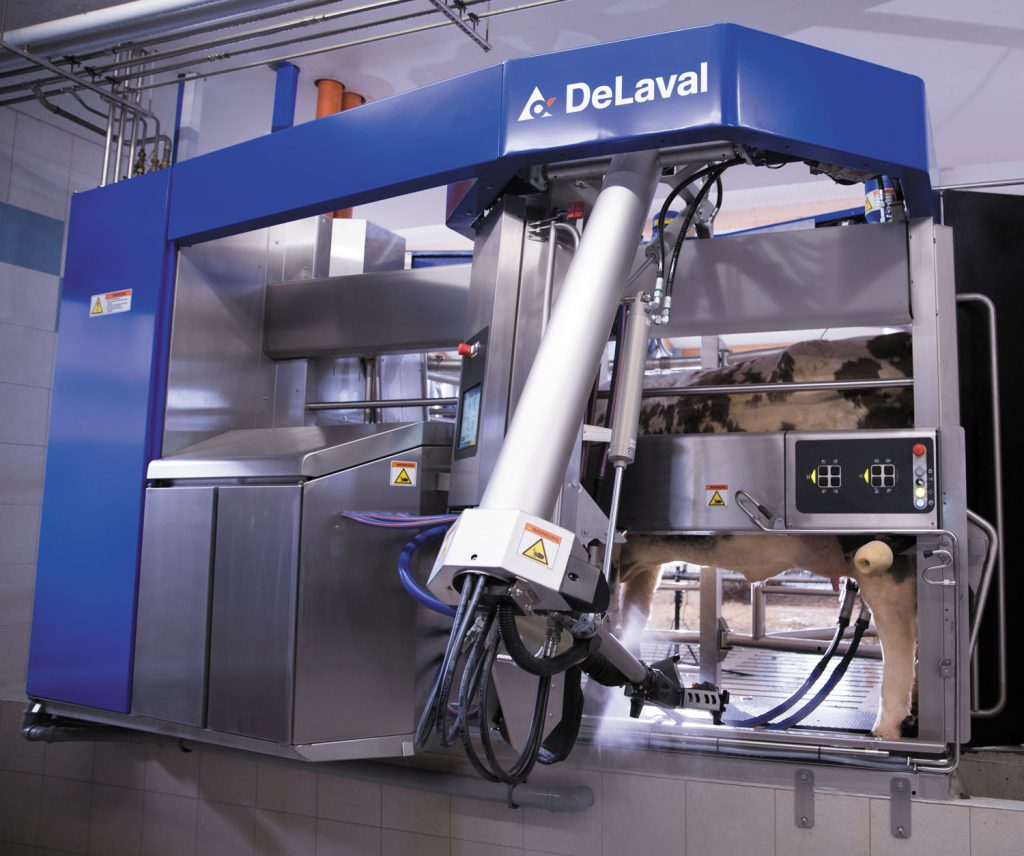 Latest Delaval Voluntary Milking System Shines On European