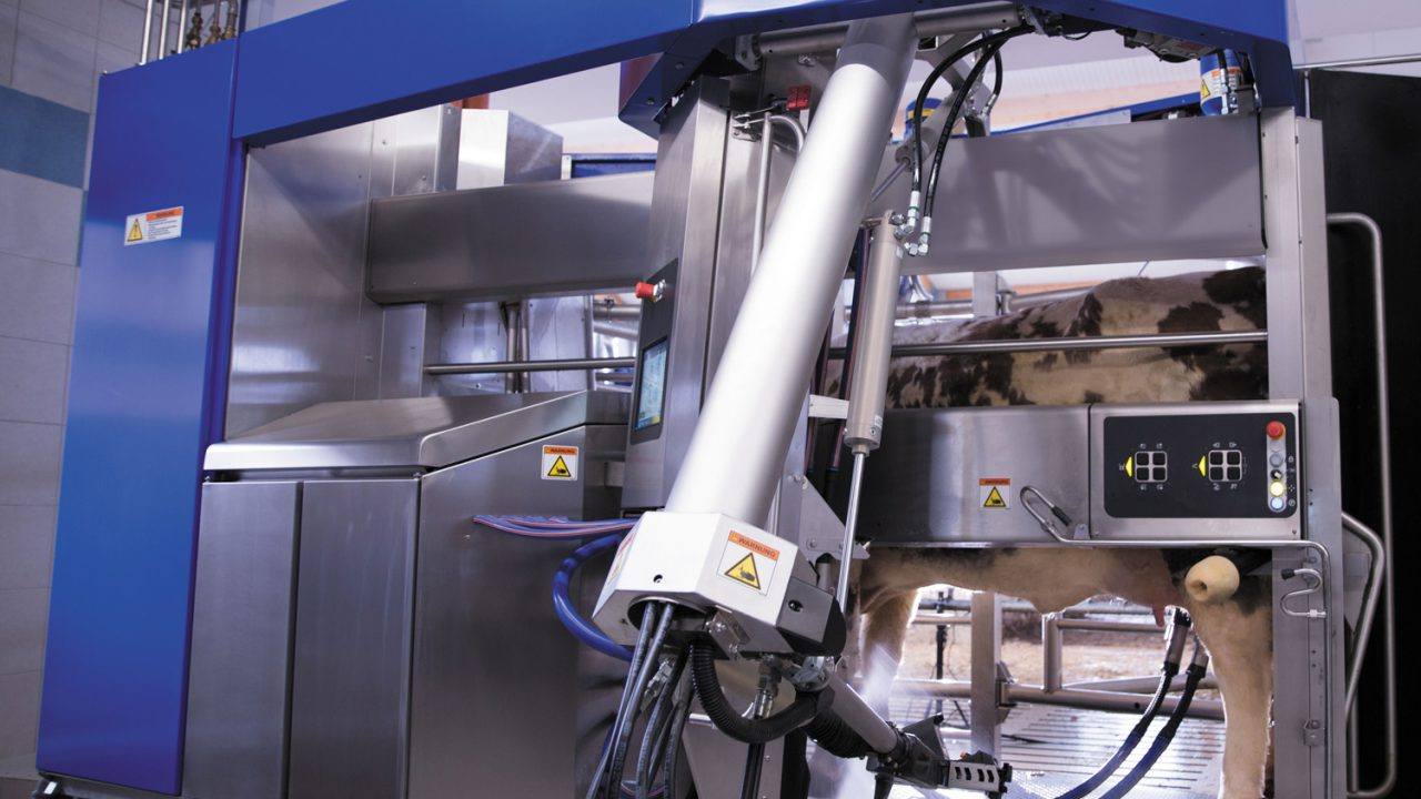 New robotic milking system from DeLaval