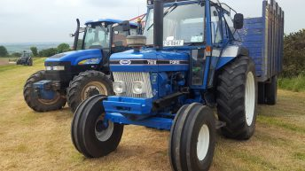 Top 'drawer' tractors? Silage from the eras at 'Mogeely' day out