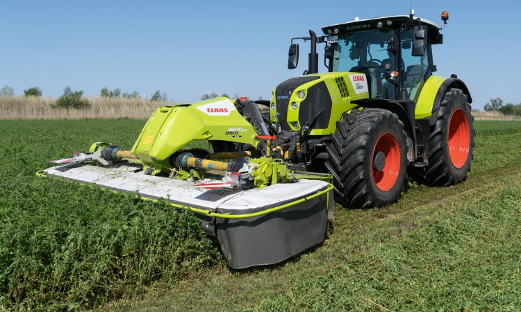 Big 'moves' from Claas; see what's clever about this mower