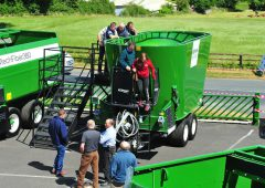 Dairy and beef farmers set their sights on diet feeders at KEENAN open day