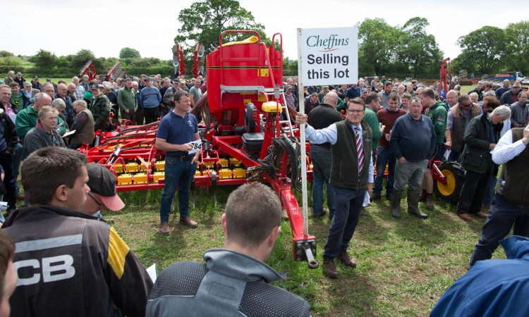 Auction report: Did bidders 'dig deep' for these tillage implements?