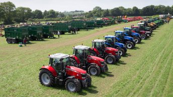 Auction report: Big fleet of tractors sold by one contractor