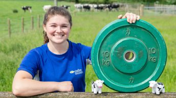 Meet the farm girl jetting off to Canada to powerlift at world championships