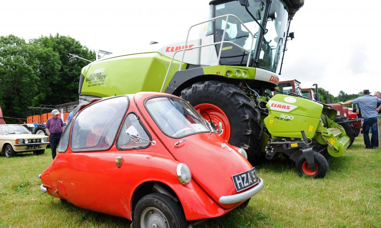 Pics: 'Iconic' German pairing at machinery-packed event in Cork