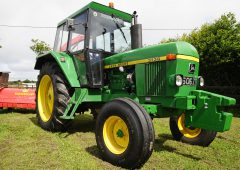 Classic corner: 6-cylinder Deere from the 1970s is a cherished Cork citizen