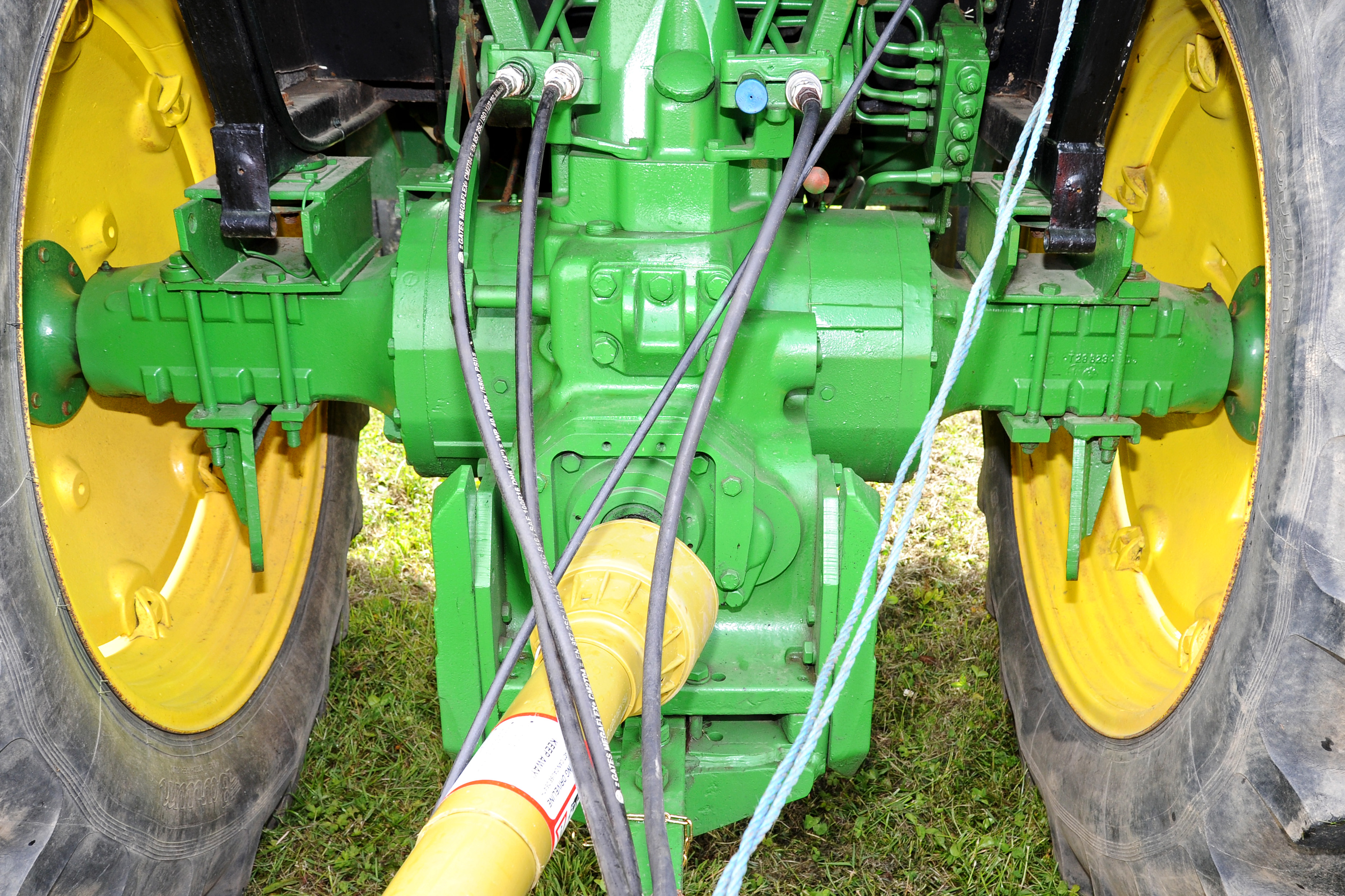 Classic corner: 6-cylinder Deere from the 1970s is a cherished Cork