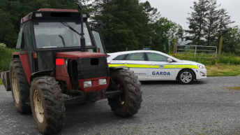 'Licence to till': Disqualified tractor driver busted by 'farmed Gardai'