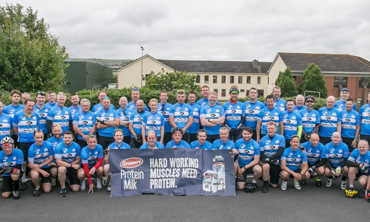 Gear-shifting Glanbia crew completes 300km cycle for charity