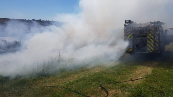 Videos: Firefighters battle to contain gorse fires around the country