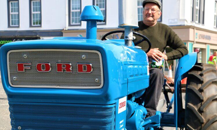 Distinctive blue 'belle' gets outing at Comber spud festival