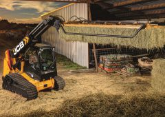 A tracked, telescopic skid-steer loader: Is this a practical farming tool?