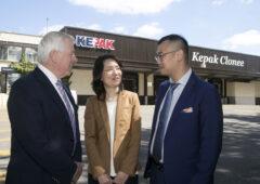 Chinese Embassy delegation visits Kepak Clonee