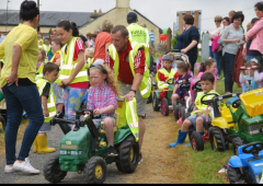 'No engines please' as Laois toy tractor run rolls out