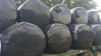 Transporting bales? Don't forget to apply straps