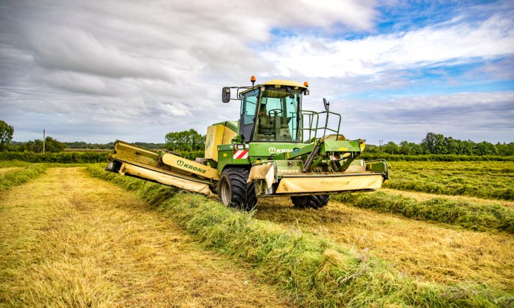 September silage brings activity to the fields