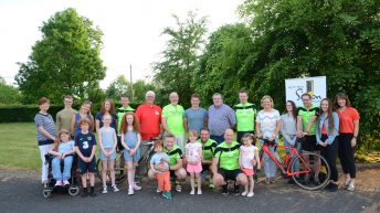 Farmers cycle 1,600km for worthy cause