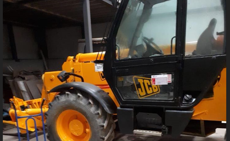 Pics: Gardai appeal for info on JCB stolen in Limerick