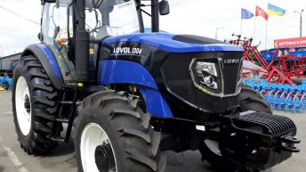 'Made in China': 6-cylinder tractor from Lovol tops 130hp