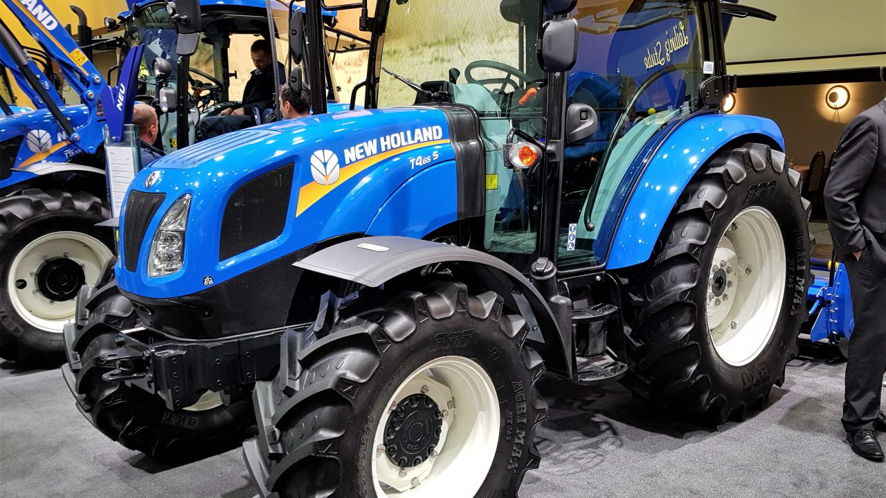 New tractor sales in the UK on the increase